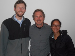 With David Shenk (MMN) and Tibrine (MCC Refugee Project)