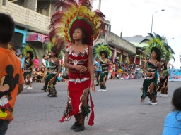 A parade was held to honor Napo