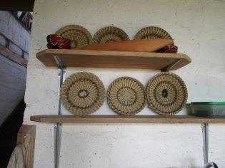 Baskets woven by Waorani women
