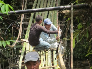 Kichwas, originally descended from the Incas, have a long and proud tradition of bridge building