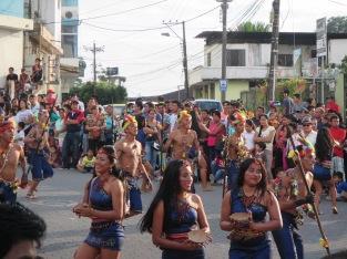 Kichwa dancers