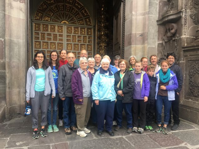 Outside the Church of the Compania (Jesuit)