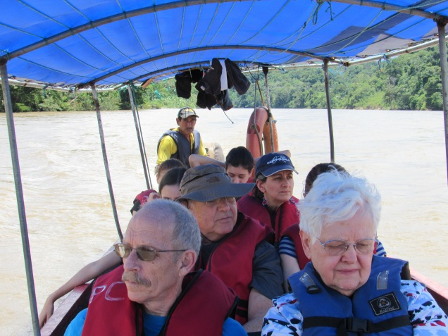 This was our first of several boat trips