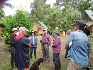 Randy Borman, son of the first Christian missionaries to the Cofan, takes us on a tour of the village